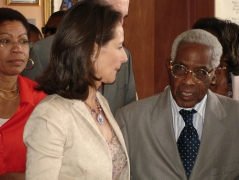 Royal et Césaire en 2007